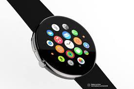 Watch by Apple Watch Round Concept Jpg 2050 1366 458157 On Wookmark