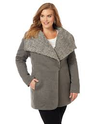 Plus Size Quilted Barn Jacket Plus Size Women U0027s Coats U0026 Outerwear Catherines