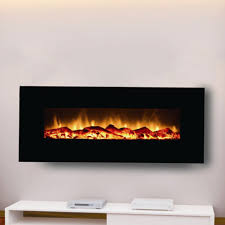moda flame houston 50 in electric wall mounted fireplace