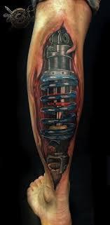 biomechanical tattoo for knee biomechanical tattoo for geeks