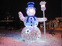 Lighted Snowman Outdoor Decoration by Snowman Outdoor Decorations Garden Art Outdoor Decor