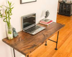 Reclaimed Wood Executive Desk Industrial Desk Etsy