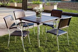 Small Outdoor Table by 5 Small Patio Dining Sets For The City Dweller