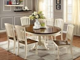 Antique Round Oak Pedestal Dining Table Round Dining Table For 6 With Leaf Remodel Hunt