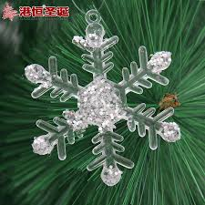 aliexpress com buy christmas snowflake decorations 7cm window aliexpress com buy christmas snowflake decorations 7cm window christmas tree decor for home restaurant hotel snowflake ornaments 6pcs a lot from reliable