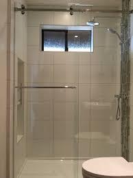 Frameless Glass Shower Door Kits Serenity Series Frameless Sliding Shower Enclosure 3 8 Clear