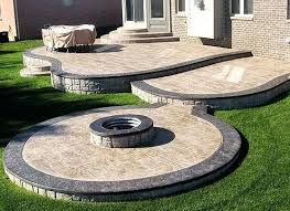 Backyard Cement Ideas Cement Patio Ideas Cement Patio Landscaping Designs Epic Backyard