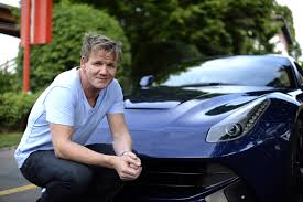 ferrari factory gordon ramsay at the ferrari plant in maranello eurocar news