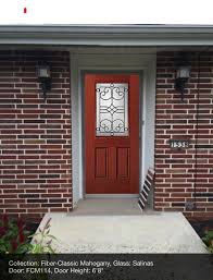 full view glass door fiberglass stained entry doors pbs installation