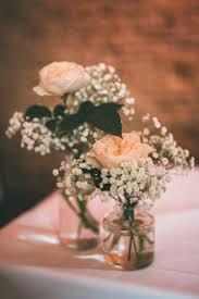 Country Centerpieces Pretty Peach Country Boho Wedding Flower Tableweddingfresh Table