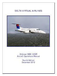 emb 120 manual landing gear takeoff