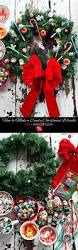 how to make a candy christmas wreath marla meridith