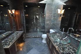 Natural Stone Bathroom Ideas Bathroom Daltile Mesquite Grey Stone Sink White Stone Tile