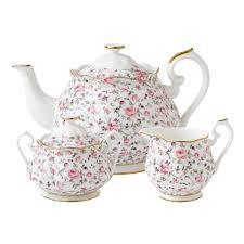 confetti 3 tea set royal albert us