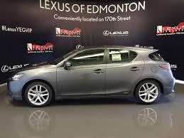 lexus hybrid ct used 2016 lexus ct 200h fwd 4dr hybrid 4 door car in edmonton ab