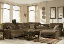 Sectional Sleeper Sofa With Recliners Sofa Sectional With Chaise 4 Seat Reclining Sectional