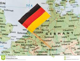 Map Germany by Germany Map Stock Image Image 6066851