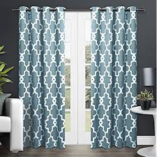 White And Teal Curtains Teal And White Curtains