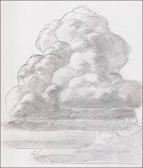 pencil drawings to draw clouds pencil sketch pencil and in color clouds