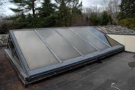 Flat Roof Skylight Repair On Flat Roof Roofing Contractors Norwalk Ct