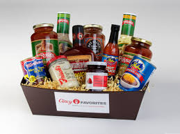 food baskets to send cincinnati gift baskets with montgomery inn graeter s skyline