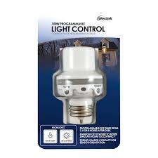 100 Watt Equivalent Led Light Bulbs For Home by Westek Slc6cbc 4 100w Programmable In Light Control