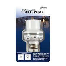 westek under cabinet lighting westek slc6cbc 4 100w programmable in light control