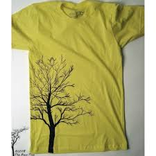 Tree Shirt Bare Tree T Shirt On Lemon American Apparel Dress Up