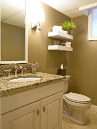 white fixtures and accents are mixed with a warm latte colored