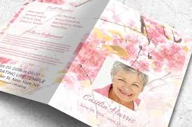 beautiful funeral programs funeral program templates for instant tribute