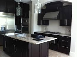 white countertops with dark cabinets home design ideas