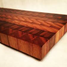 handmade butcher block cutting board cheese plate from