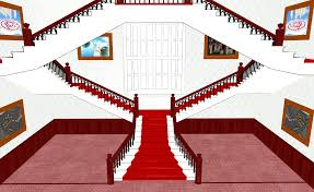 mmd fancy stairs by amiamy111 on deviantart