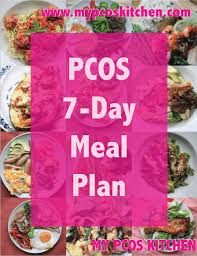 pcos 7 day meal plan my pcos kitchen