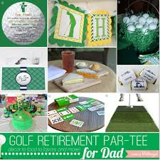 Golf Retirement Party Ideas for Dad