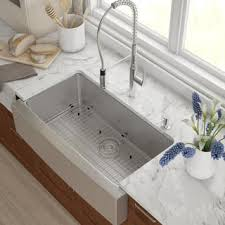 Farmers Sinks For Kitchen Enthralling Farm Sink For Kitchen Farmhouse Sinks Less Overstock