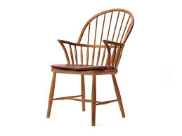 Oak Table With Windsor Back Chairs Oak Windsor Chair By Frits Henningsen For Sale At 1stdibs