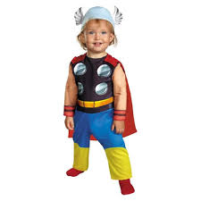 halloween costumes super heros marvel super hero squad thor infant costume a mighty