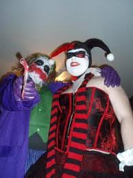 Harley Quinn Halloween Costume Size Batman Dark Knight Joker Deluxe Costume
