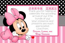 minnie mouse thank you cards 23 images of minnie thank you card diy template diygreat