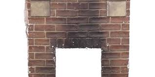 How To Cover Brick Fireplace by How To Refinish A 70s Full Wall Brick Fireplace
