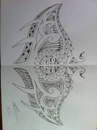 polynesian manta ray tattoo by a18cey on deviantart