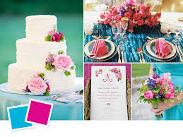 summer colors hot wedding color combos for summer