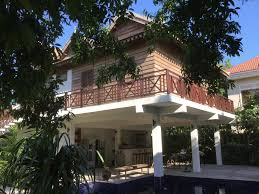 bed and breakfast enkosa bnb wooden house siem reap cambodia