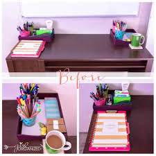 Purple Desk Organizers Office Desk Accessories For Modern Home Office Furniture