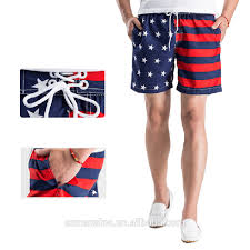 American Flag Plus Size Shorts 2017 Summer Fashion Usa Apparel Men American Flag Inspired Board
