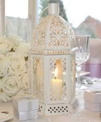 vintage tea light holders cream table lantern vintage candle holder tea light wedding