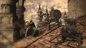 The Grand Roof of Lothric Castle