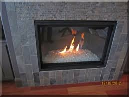 fireplaces with glass rocks adorable storage decoration at