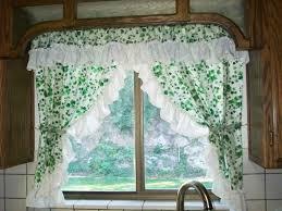 Kitchen Curtain Patterns Kitchen Ideas Burlap Valance Diy Curtains Lovely Kitchen Curtain